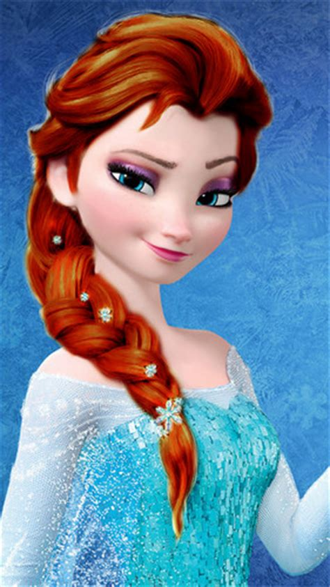 elsa hair color frozen images elsa brown hair color wallpaper and