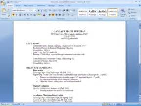 resume paper best template collection