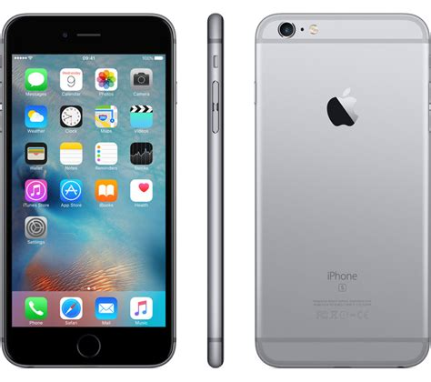 buy apple iphone 6s plus 64 gb space grey free delivery currys