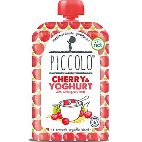 baby foods organic baby foods books organic cherry and yoghurt baby food in 100g from piccolo