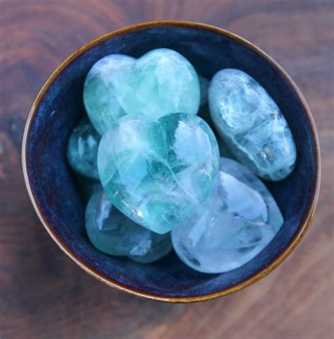 bring4th heart shades of green these rainbow fluorite hearts are gorgeous they come in