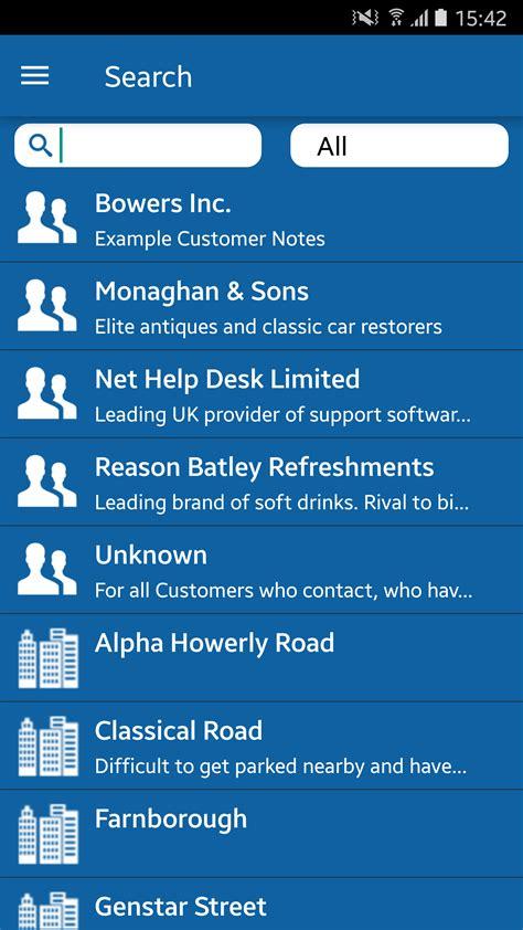 web help desk app android smartphone app help desk software nethelpdesk