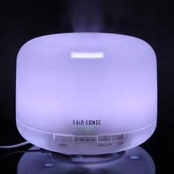 H03 Essential Aroma Diffuser Ultrasonic Aroma Humidifier 7 Color sainsonic aroma diffuser ultrasonic humidifier 7 led color