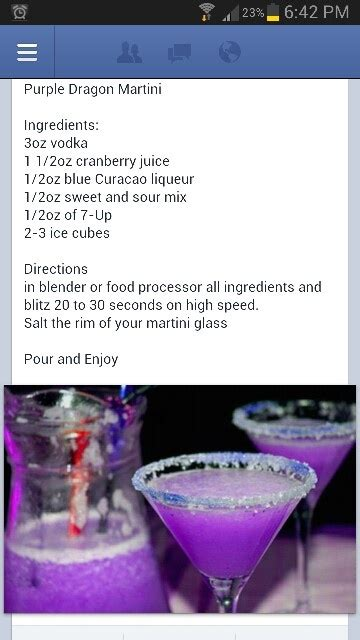 purple martini recipe purple martini recipe drink images