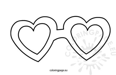 printable star glasses sunglasses clip art for coloring coloring pages