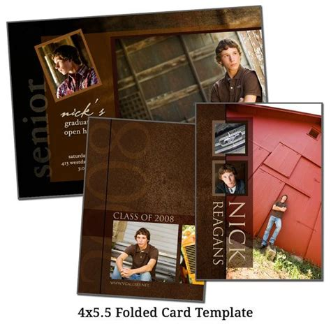 4x5 5 card template 79 best images about graduation on smart