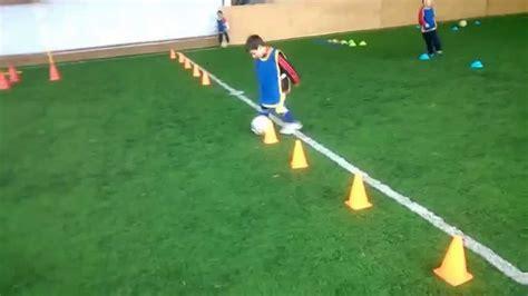 ejercicios futbol sala para ni os futbol para ni 241 os circuito t 233 cnico motriz youtube