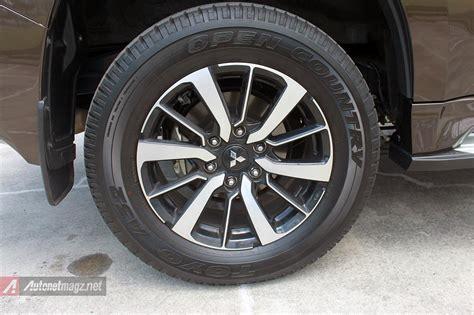 Disc Brake Cakram Mitsubishi Pajero Depan 1 mitsubishi all new pajero sport rear disc brake 2016 autonetmagz