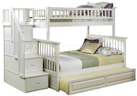 bunk beds with steps twin over full bunk bed with stairs decorate my house