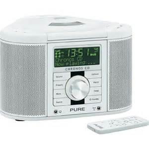 Retro Bathroom Radio Dab Radiowecker Chronos Cd Serie Ii Aux Cd Dab