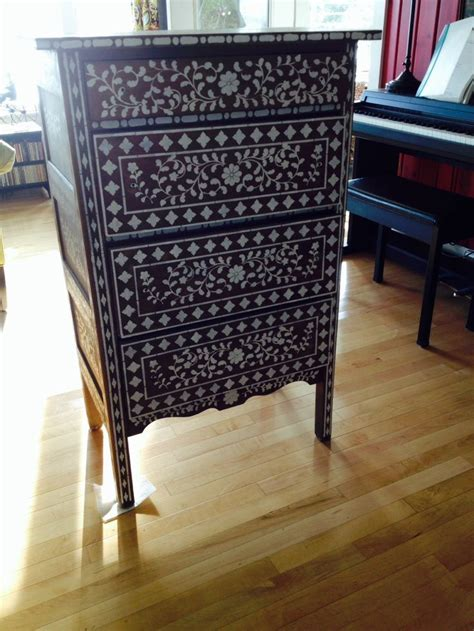 moroccan style stenciled dresser purchased simple dresser