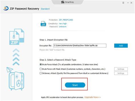 windows password reset zip smartkey zip password recovery screenshots