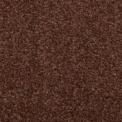 chocolate brown hessian back budget saxony carpet cheap