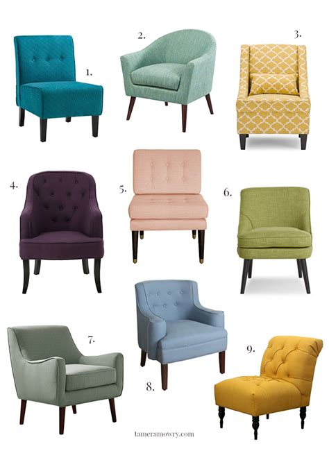 Accent Chairs 300 Colorful Accent Chairs 300 Tamera Mowry