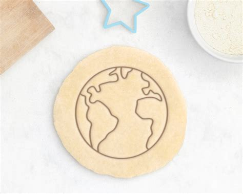 Planet Cookies planet earth cookie cutter green planet cookie cutter