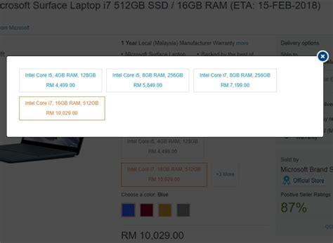 Microsoft Surface Malaysia you can pre order microsoft s surface laptop in malaysia