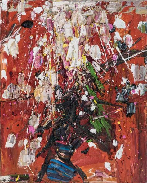 znag painting zhang he fireworks painting for sale at 1stdibs