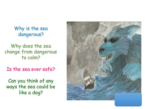 the sea by james reeves themes the sea poem by james reeves by amd26 teaching resources