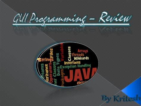netbeans tutorial for beginners ppt java gui programming netbeans pdf gettprep