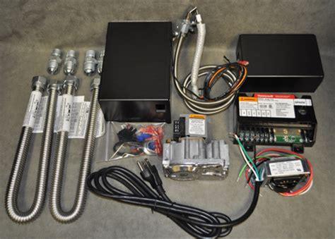 fireplace millivolt honeywell electronic ignition valve