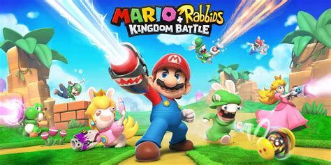 Kaset Nintendo Switch Mario Rabbids Kingdom Battle mario rabbids 174 kingdom battle nintendo switch juegos nintendo