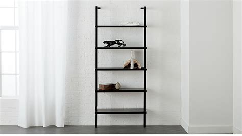 stairway black  wall mounted bookcase reviews cb