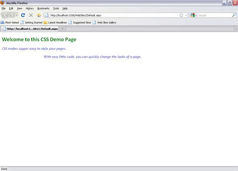 css tutorial with demo css external file sheet in asp net 4 free source code