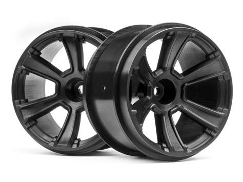 Rc 2pcs Ban Velg Tire With Wheel Set Sand Type For 1 8 1 10 1 12 Hex17 hpi 115327 6 mt wheel 2 8 quot black 2pcs l 248 ten rc shop as