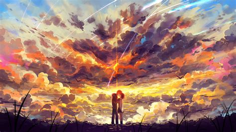 Kaos Kimi No Na Wa Your Name Sky Hobiku Anime Store kimi no na wa your name wallpaper hd free