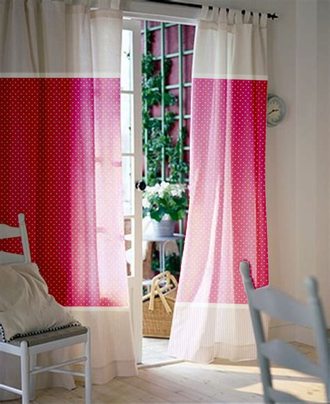 Baby Nursery Curtains Pink Curtains Kids Curtains Pair Curtains Baby Nursery