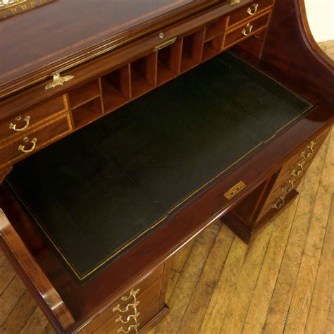 antique mahogany roll top desk victorian mahogany roll top desk antiques atlas