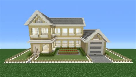 make a house a home minecraft tutorial how to make a suburban house 4