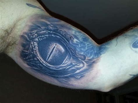 snake eyes tattoo reptile eye