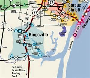 map houston kingsville