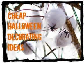 How To Decorate Your Home Cheap by Cheap Halloween Decorations And Decorating Ideas