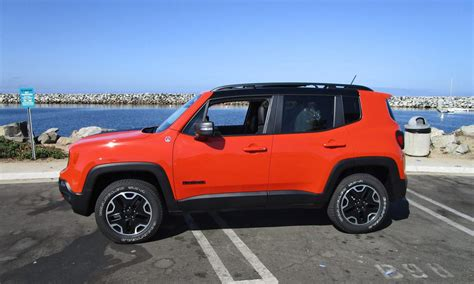 Jeep Renegade 4x4 2016 Jeep Renegade Trailhawk 4x4 Road Test Review By