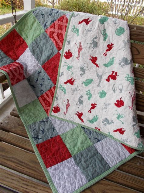 Folded Quilt by Cat Quilts Baby Quilt How To Fold A