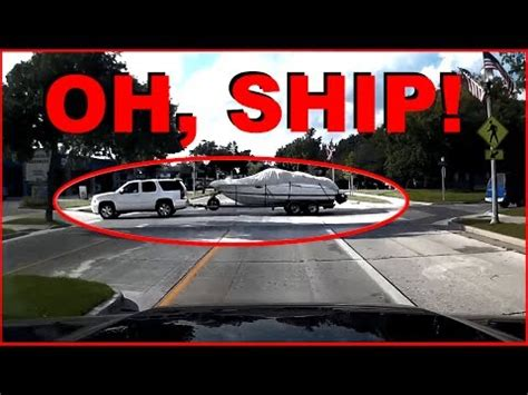 bad boat driving bad driving wisconsin a boat load of trouble dashcam