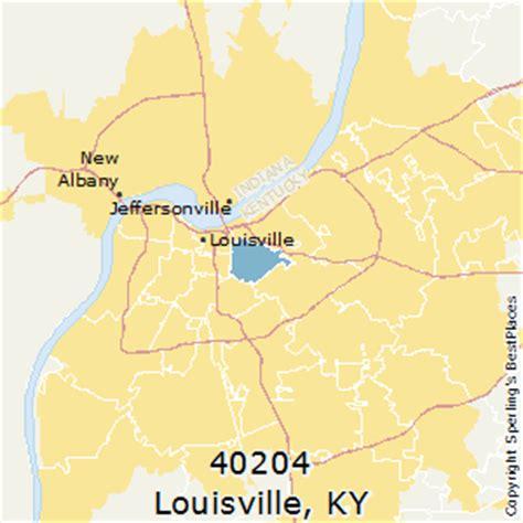 louisville zip code map best places to live in louisville zip 40204 kentucky