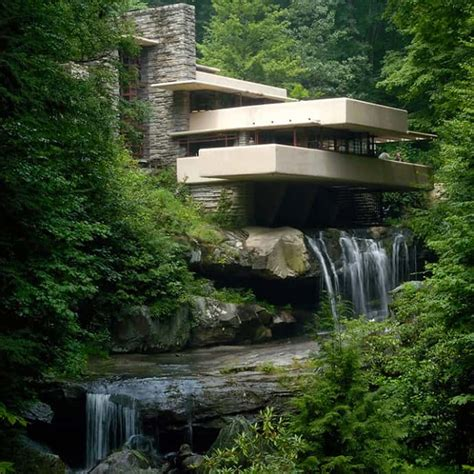 Cool Hoses by Fallingwater House By Frank Lloyd Wright Video