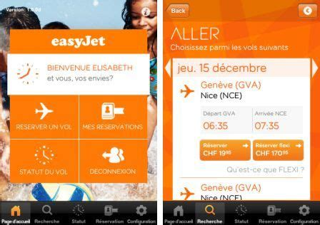 easyjet mobile easy jet mobile l application low cost