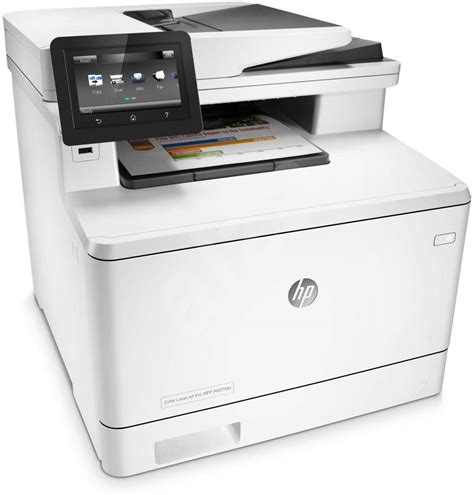 Printer Hp Laserjet F4 hp color laserjet pro mfp m477fdn jetintelligence laser