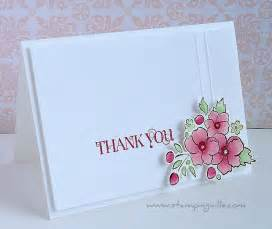 stin up thank you note card cards ideas