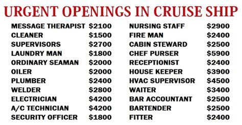 ship jobs no experience 2018 cruise ship jobs vacancies in dubai uae jobsmag