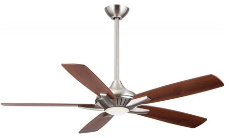 minka aire dyno 1 light brushed nickel ceiling fan