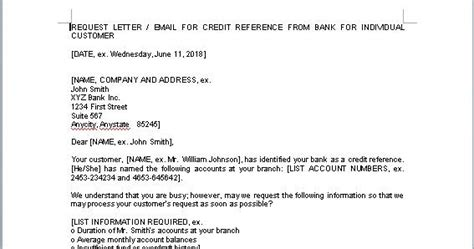 Credit Reference Template Word Credit Reference Form Template In Word