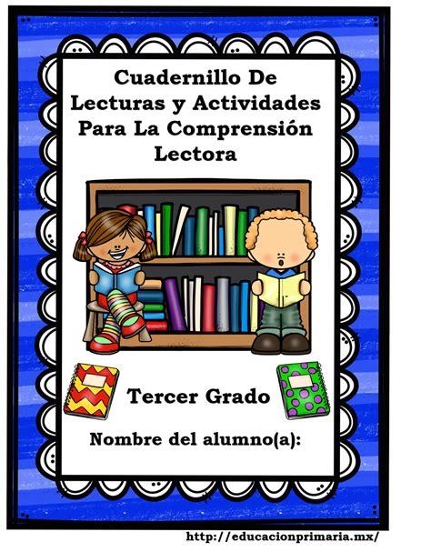 cuadernillo comprension lectora 2 grado de primaria cuadernillo de lecturas y actividades para la comprensi 243 n