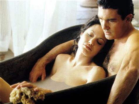 film the original sin life as a human antonio banderas and angelina jolie in