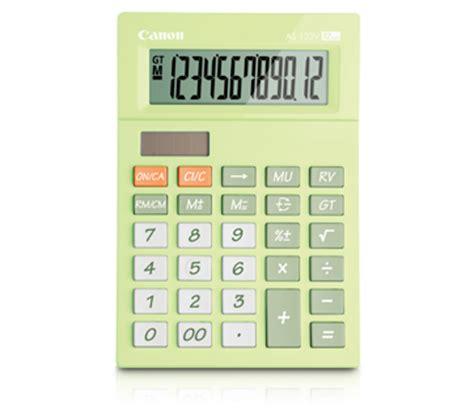 Kalkulator 12 Digit Canon As 120v Color Series As 120v Canon Singapore Personal