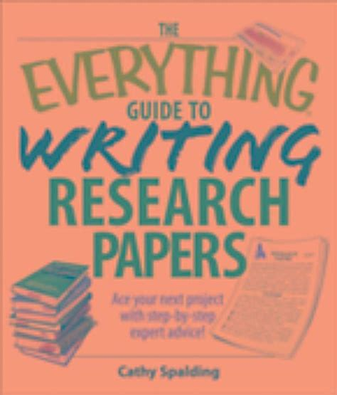 guide to writing research papers everything guide to writing research papers book ebook
